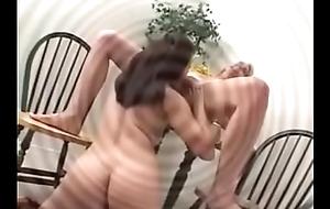 Nurturer seduces her asian (not) young gentleman