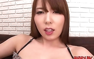 Cute Asian Cuties Play Herself Relating to Finger and A torch for Egg HD Yui Hatano-- JAVHDUNC.COM