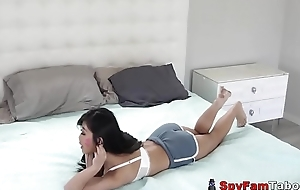 Hot Stepsis Jade Kush Tricked &amp_ Modified Away from Bro On Halloween