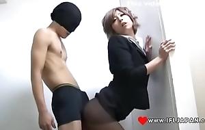 Haru Sakuraba Give Pantyhose Fucked - More Japanese XXX Full HD Porn at www.IFLJAPAN.com