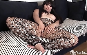 Yanks Asian Hermine Haller Toys Her Jellied Snatch