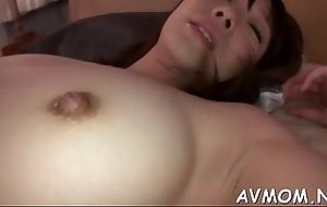 Sexy mam seduces 2 horny dudes