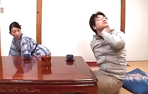 Unerring Oriental Japanese Mom And The brush Son First Sex