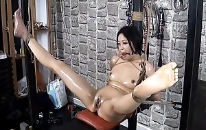Destined up then Masturbate using Dildos and Hard Having it away
