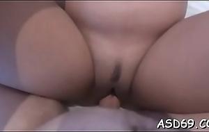 Rough sex for oriental snatch