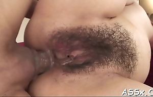 Oriental anal schooling and snatch toying