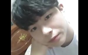 Korean moaning wank
