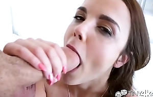 Dillion Harper receives bloody dick down with facial
