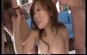Triumvirate sex adventure along Mr Big Konatsu Aozona - Unfamiliar JAVz.se