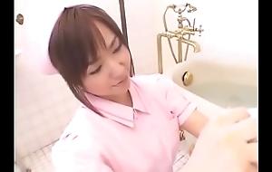 Aya Takahara oral sex in bathroom