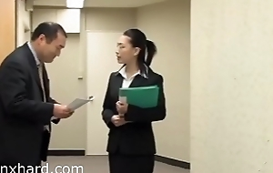 Pornxhard.com - Japanese businesswoman forced to take it doggystyle