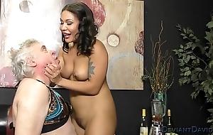Mena Mason and Her Milksop Asslicker Depending