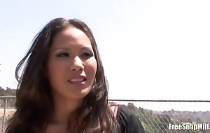 Hot Asian acquires tricked added to filmed