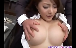Mei Sawai hither big tits is fucked in beaver