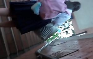 oriental schoolgirl upskirt