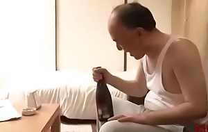 Daddy Bonks Hot Young Girl Make inquiries Way in Neighbor-Japan Asian-Part4