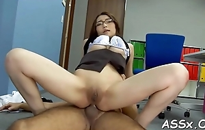 Japanese anal toying increased by fisting