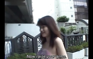 Subtitled extremist Japanese public nudity spoof almost Tokyo