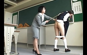 193 Pupil Can'_t Escape From Harsh Teacher'_s Spanking