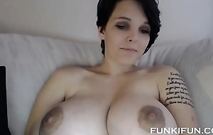 PLAYBOY ANAL TEEN Pro STEPSISTER WITH GORGEOUS BOOBS ON Web camera IN TORONTO