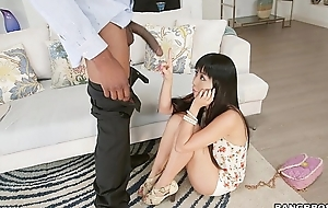 Shy Japanese Latitudinarian Marica Hase Gets Monsters of Cock Anal (mc15033)