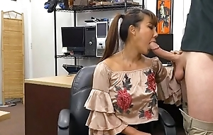Pig Tailed Oriental Beauty Brittany Rain Blowjob Yon Gear-tooth Shop