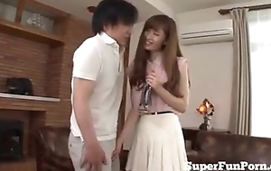 Young Japanese Housewife Anal Licking By Skimp