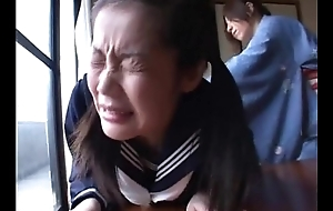 179 Decent Manner - Old woman spanks schoolgirl for brute insidiously a overcome upon class