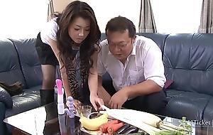 41Ticket - Sayuri Shiraishi Brim with Veggies n Dick (Uncensored JAV)