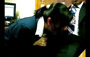 Asian secretary bonks her boss - AdultWebShows.com