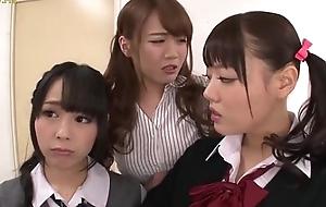 Asian Schoolgirls Seduce Classmate - More Movie scenes at HotAsianOnline.com