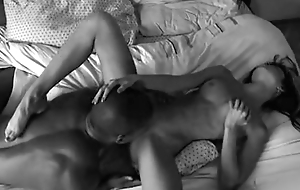 SEXY Arms ASIAN GETTING HER PUSSY LICKED BY BLACK TONGUE GIF LOOP