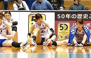 Volleyball player crestfallen ass Voyeur Cameltoe Oriental