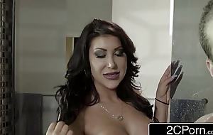 Slutty Oriental Wife August Taylor Blows Her Husband'_s Best Collaborate