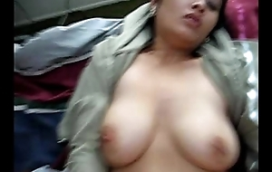 Hot clip of Bouncing boobs of Asian college popsy @ Leopard69Puma