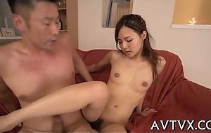 Exciting a juicy oriental vagina