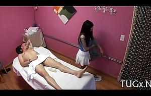 Sex perfectly matches massage