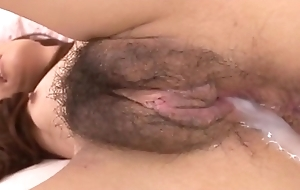 lives.pornlea.com Oriental youthful being cum inside the brush pussy