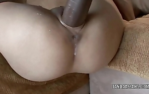 Oriental honey Miley Palatial home gets her tiny twat fucked hard
