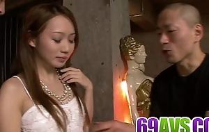 Kazumi Nanase sure loves dealing two dicks