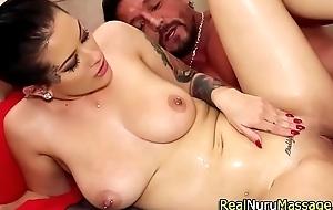Good-luck piece masseuse sperm