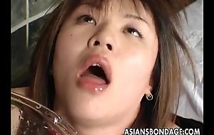 Asian prostitute has a rough bdsm treatment