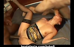 She gets fucked in a prepare hardcore hoe