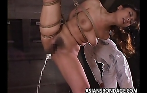 Fellows wire her not far from and that babe gets toy fucked
