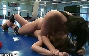 Nude Fight Club Presents: Henessy vs Abbie Cat