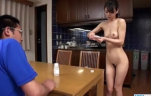 Akubi Yumemi really loves skedaddle defenceless her twat unaffected by livecam