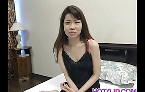 Sakura Kitazawa licks dong together with is pumped by on Easy Street together with with sex bauble