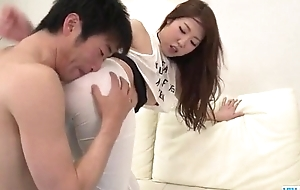 Rina Uchimura stretched while unrefined hard fucked