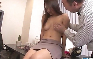 Asian babe Satomi Suzuki is ready involving fuck say no to boss