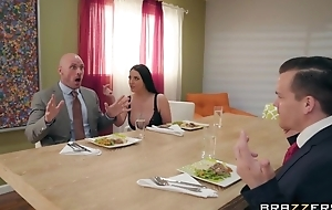 Brazzers housewife seduced will not hear of husband's business partner